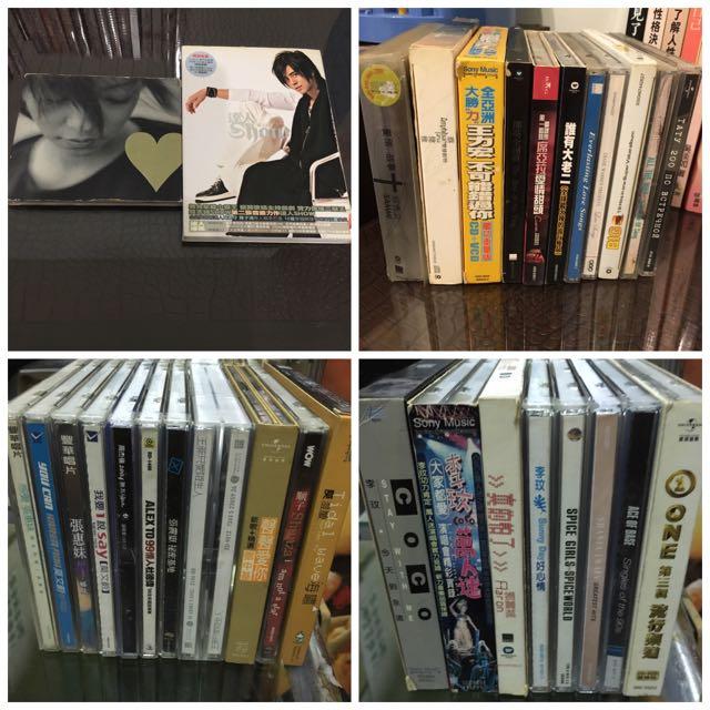 各類二手cd李玟 杜德偉 Taty 席亞拉 安室奈美惠 十年百曲專輯