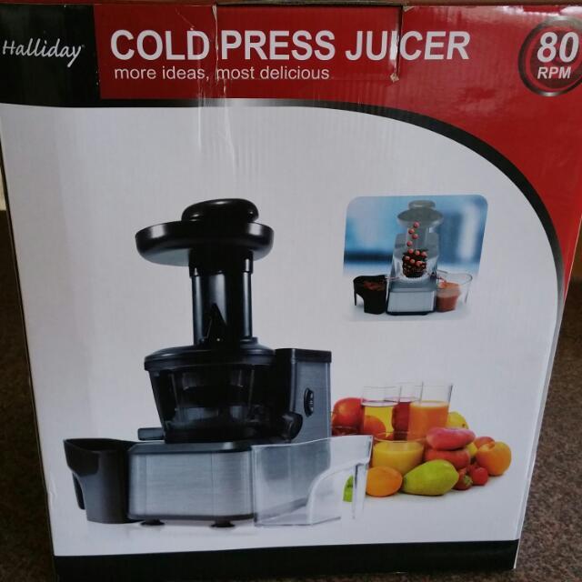 Cold Pressed Juicer