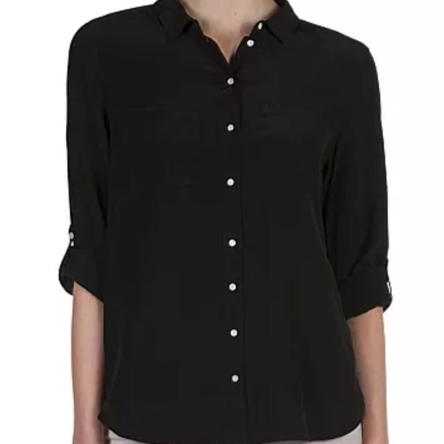 Country Road 100% Silk Shirt