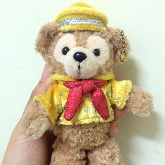 Duffy 達菲熊 黃色水手服 迪士尼30週年限定版 珠鏈