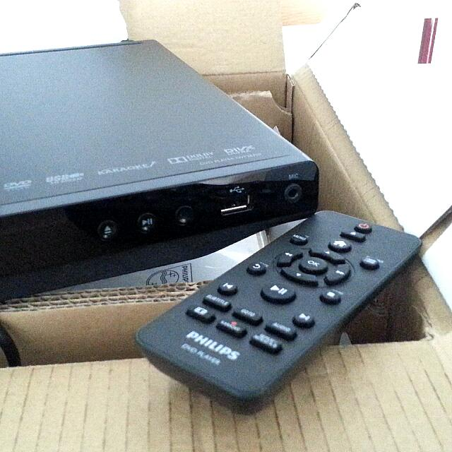 DVD Player PHILIPS DVP3670K