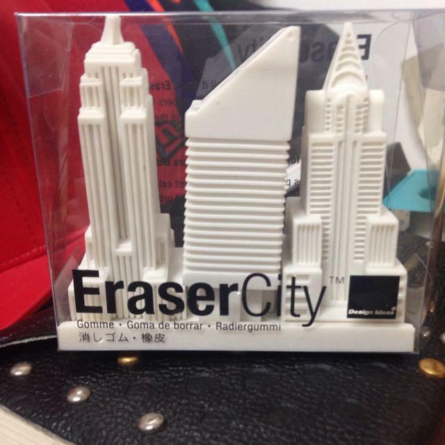 Eraser City橡皮擦