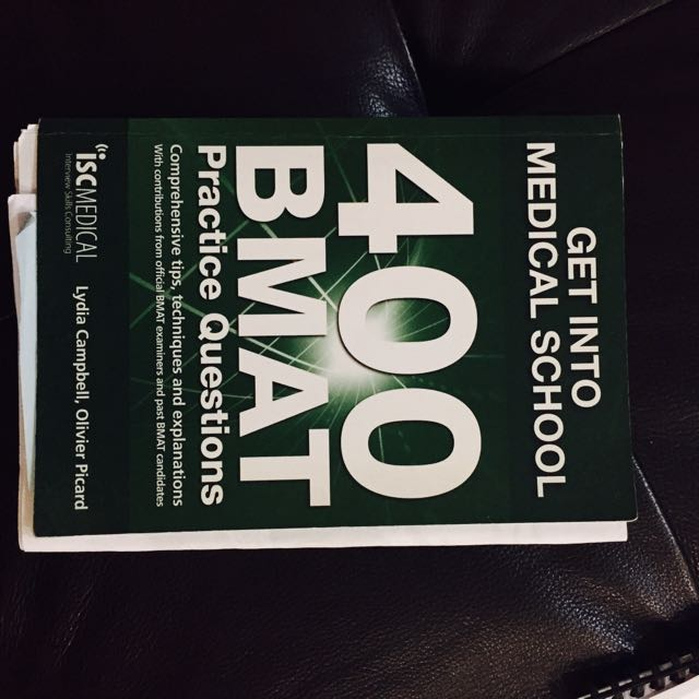Get Into Medical School 400 BMAT Practice Questions, Books