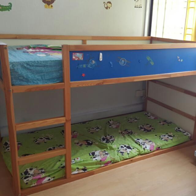 Ikea Kura Reversible Bed Furniture Home Living Frames Mattresses On Carousell