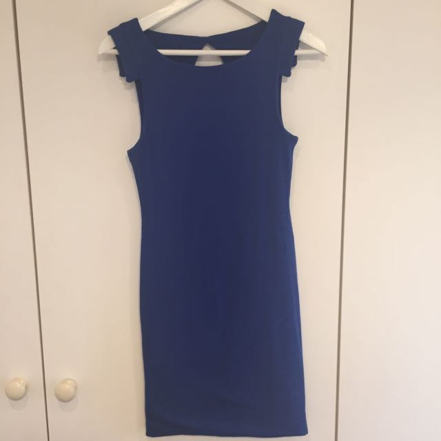 Kookai Royal Blue Dress - Size 1