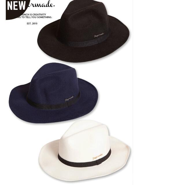 收~major 藍色 含白色帽子