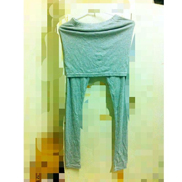 Miu-star灰色內搭褲