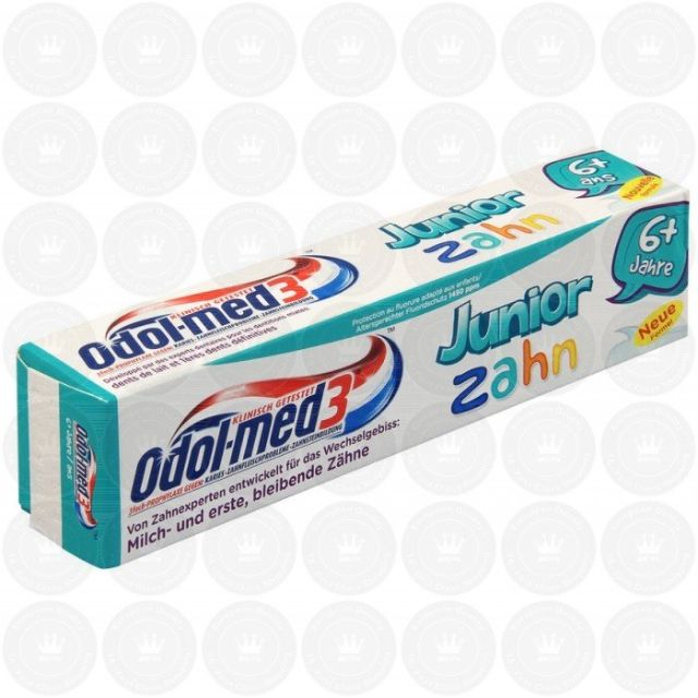 Odol Med 3 Junior Zahncreme 小學生專用牙膏