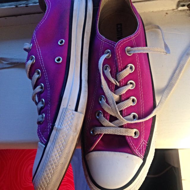 Pink Converse Chuck Taylor Woman Size 8