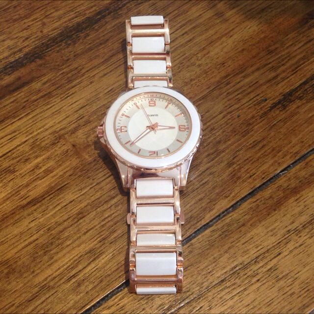 Rose Gold/White Watch