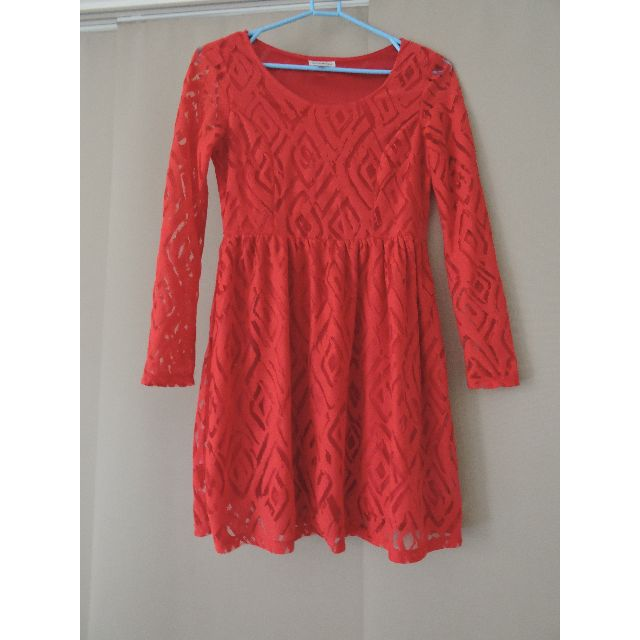 Size 6 Red Dress