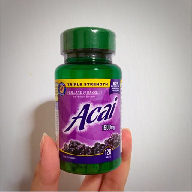 Slimming Diet Supplement Holland And Barrett Acai Berry Health