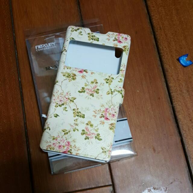 SONY Xperia Z2  小花手機殼 手機套(全新)