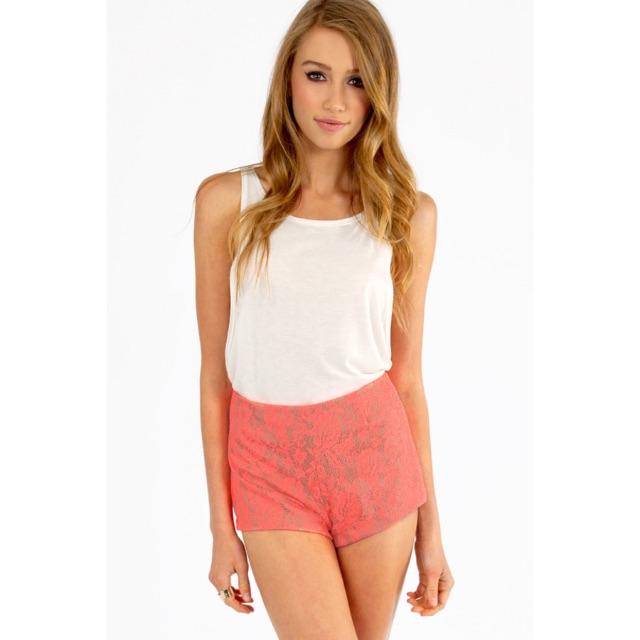 Tobi - High Hopes Lace Shorts