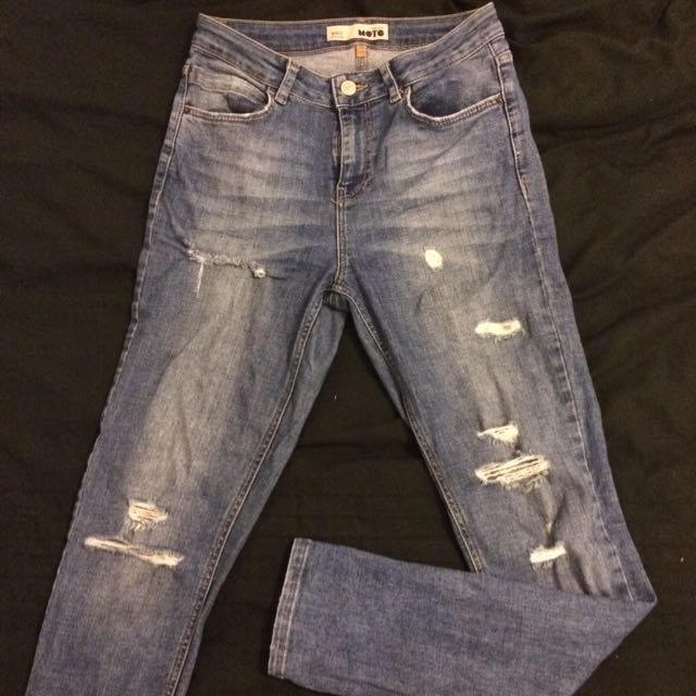 Top Shop Distressed Jeans