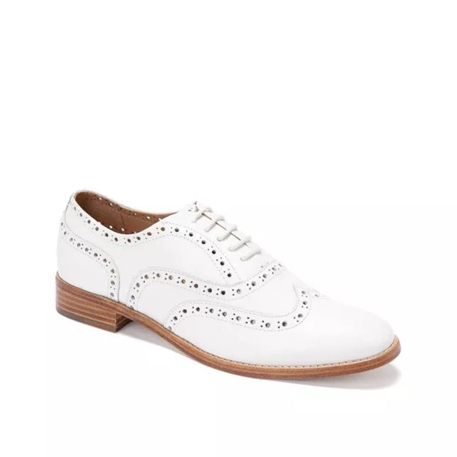 Trenery White Brogues Size 37