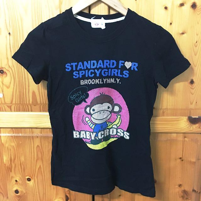 可愛小猴子T-shirt