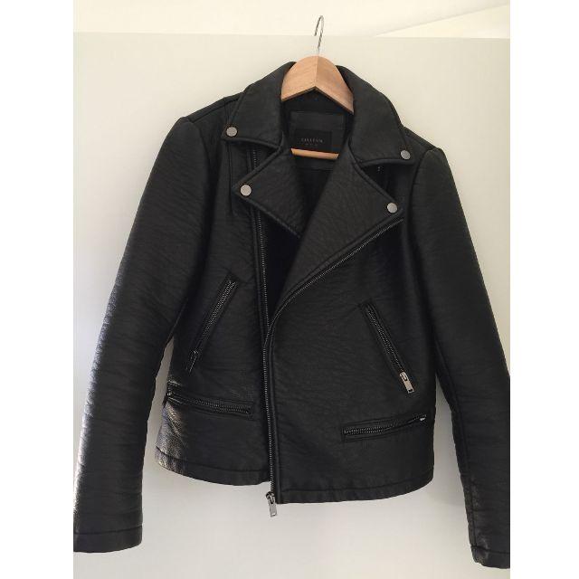 Zara Motorbike Jacket Size L - ONO