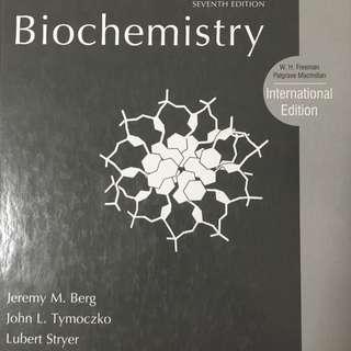 Biochemistry 7th ed LSM1401