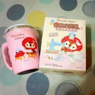 7-11 家事小浣熊 不鏽鋼泡茶杯