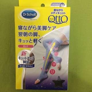 QTTO 睡前專用機能美腿襪 M號