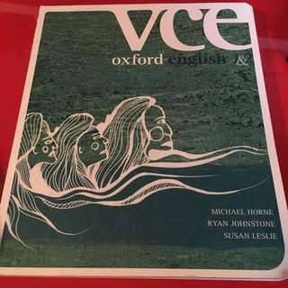 VCE Oxford English