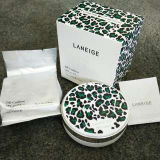 Laneige X pushBUTTON Limited Edition BB Cushion SPF50+ PA+++