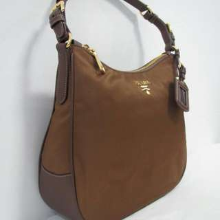 Prada Tessuto Sacca Hobo Bag Authentic