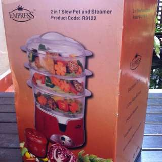 2 In 1 Stew Pot And Steamer