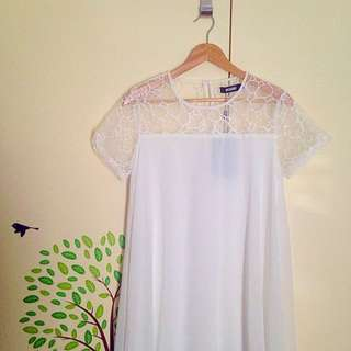 White Cute Summer Dress *new*
