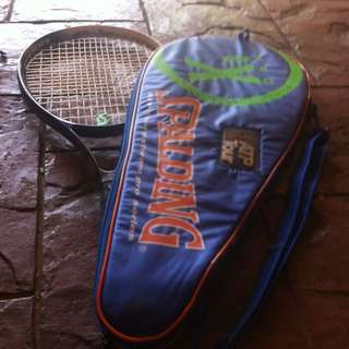 Spalding Tennis Racket With Case