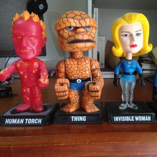 Fantastic 4 Bobble Head Set