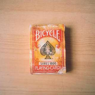 Bicycle Series 1800 Red Playing Cards Poker