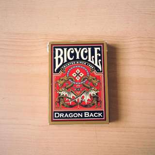 Bicycle Gold Dragon Back Playing Cards Poker Deck