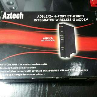 Aztech Integrated Wireless-G Modem