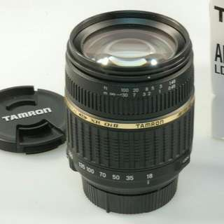 Tamron 18-200mm F3.5-6.3 (Sony A mount)