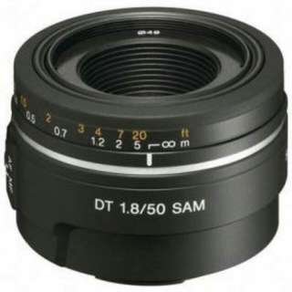 Sony A Mount F1.8 50mm Lens