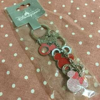 迪士尼 米奇米妮頭 鑰匙圈🔑串串連