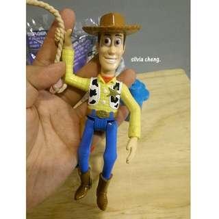絕版經典1996年漢堡王玩具組動員胡迪皮膚好好哦