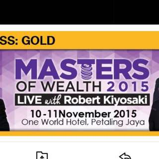 Gold Seat(Master Of wealth 2015 Malaysia)