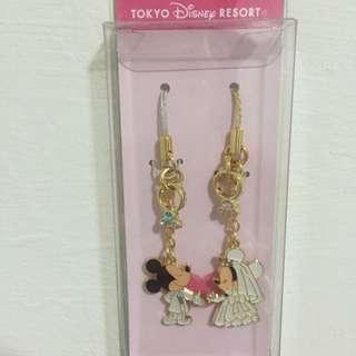Tokyo Disney 東京迪士尼米奇米妮婚禮吊飾