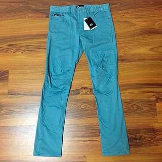 (保留中)Nike Sb 淺藍 合身 工作 長褲