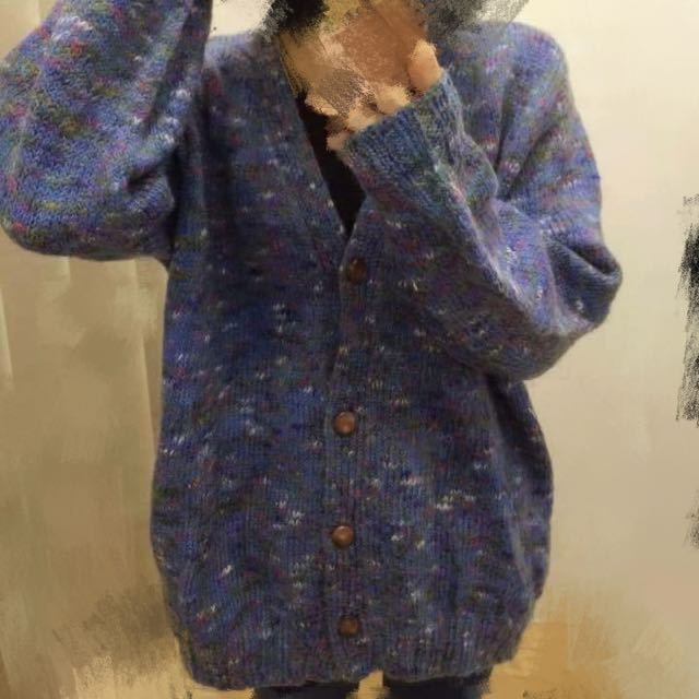 針織外套毛上衣
