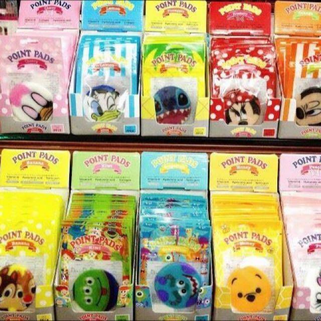 日本🇯🇵東京迪士尼經典人物圓形面膜