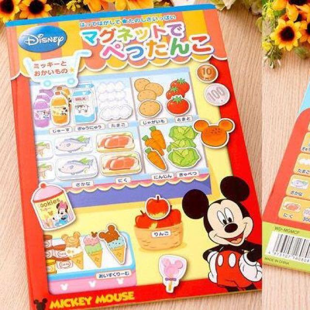 日本🇯🇵迪士尼米奇遊戲磁鐵帥