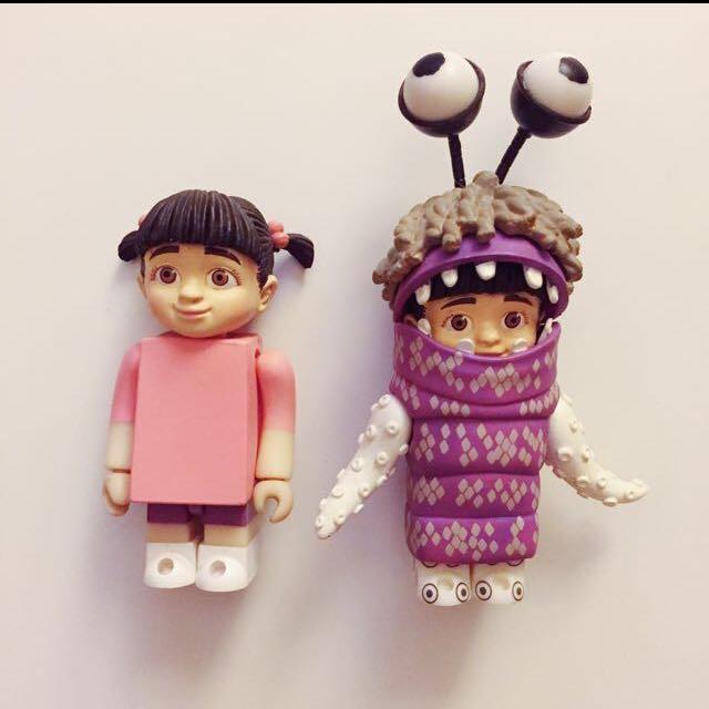 [誠收]怪獸阿布 怪獸電力公司 右邊紫色阿布
