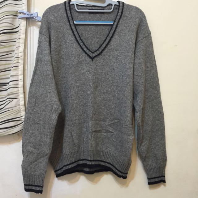 學院風 長版 毛衣