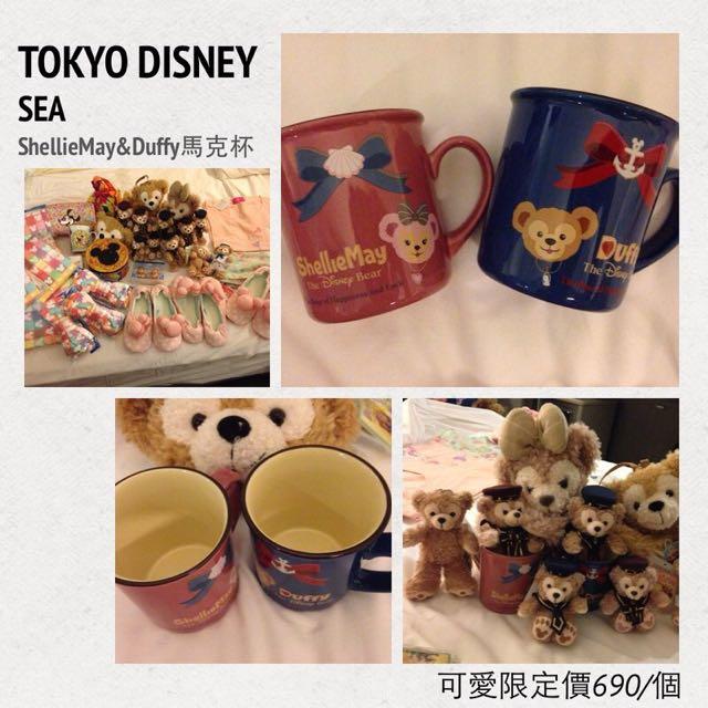 東京海洋迪士尼限定 馬克杯 全新