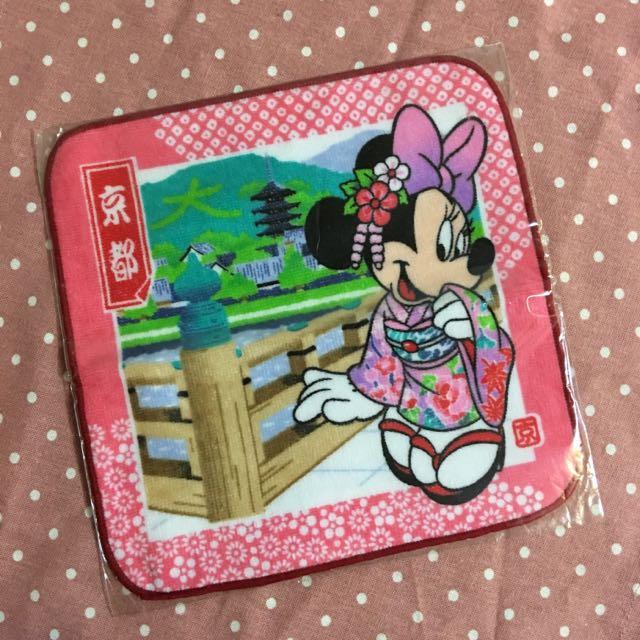 迪士尼 米妮 小手帕❤️京都限定❤️