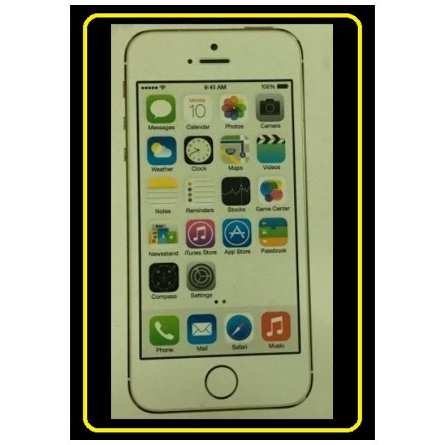 ★ ★★ Iphone 5s 二手一支(觸控故障,其它正常)
